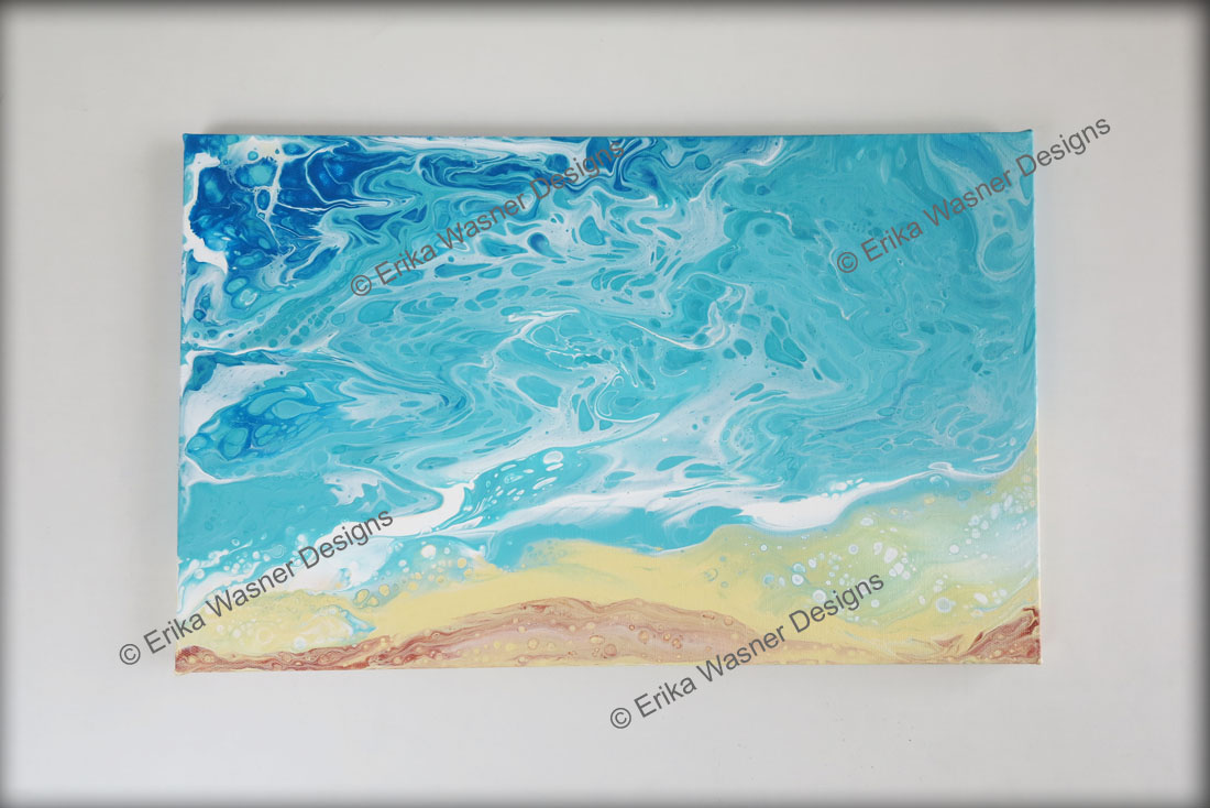 EWD Acrylic Fluid Painting Intertidal 2