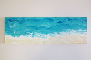 EWD Acrylic Fluid Painting Long Beach th