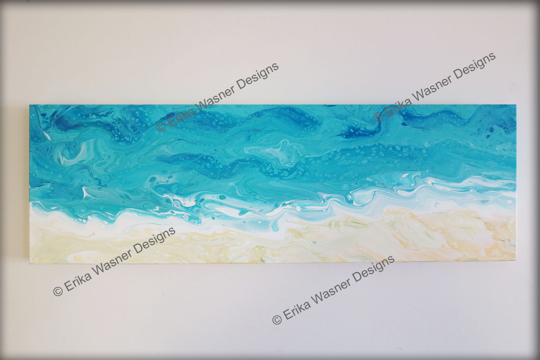 EWD Acrylic Fluid Painting Long Beach