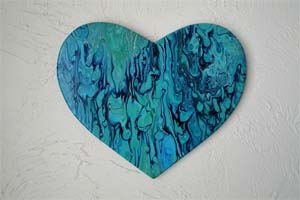 EWD Turquoise Heart th